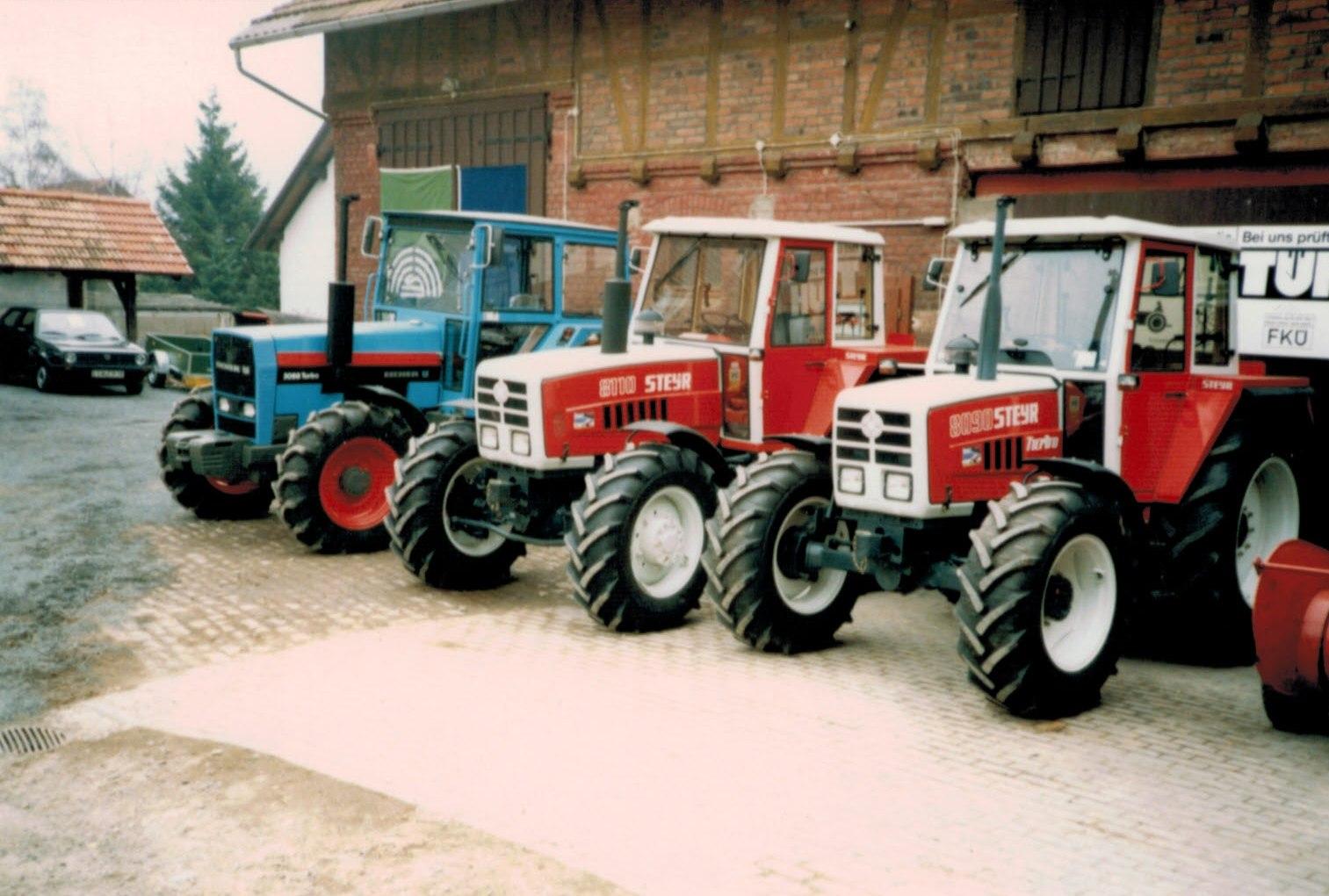 Vertrieb von Steyr und Eicher Traktoren