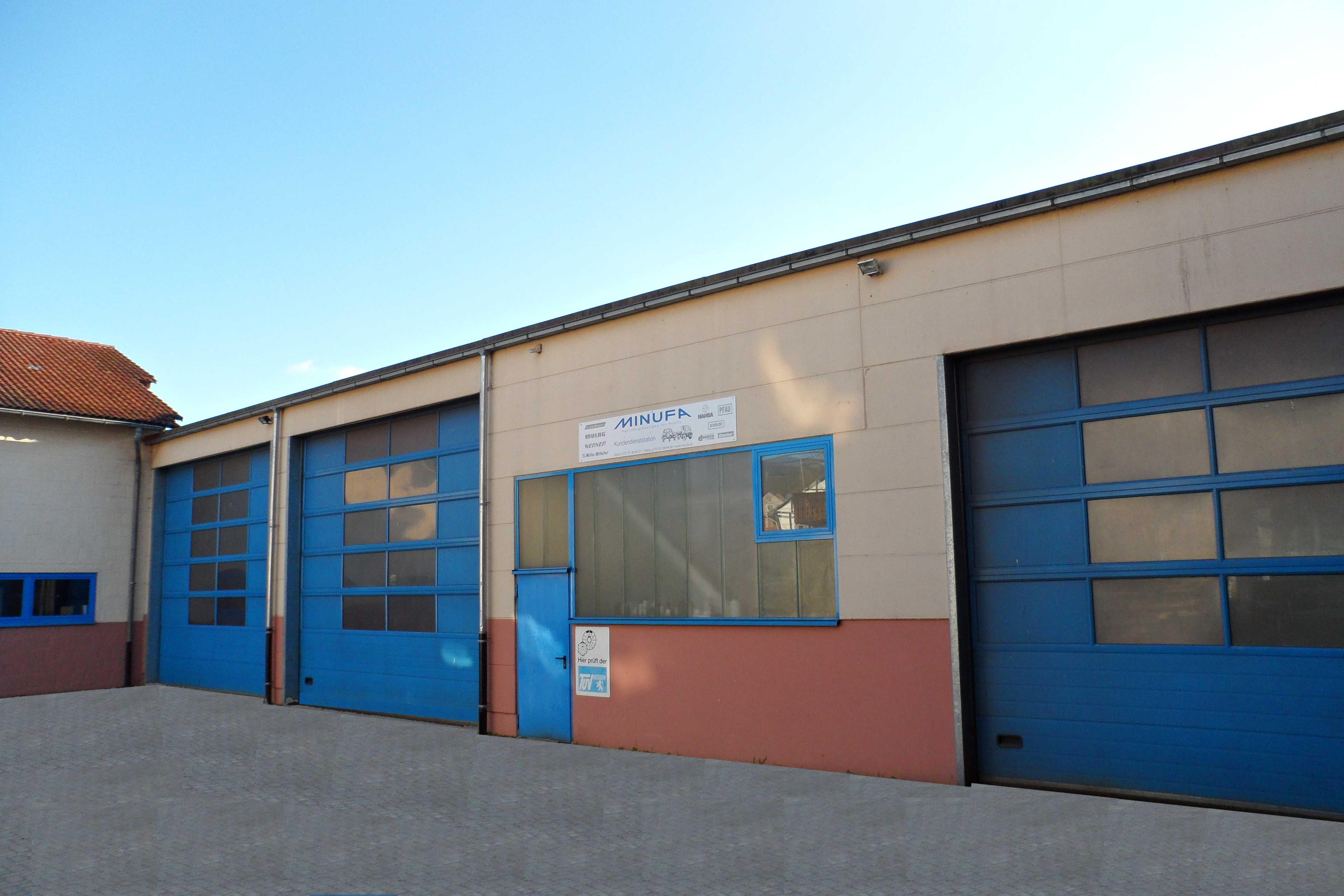 Neubau Werkstatt